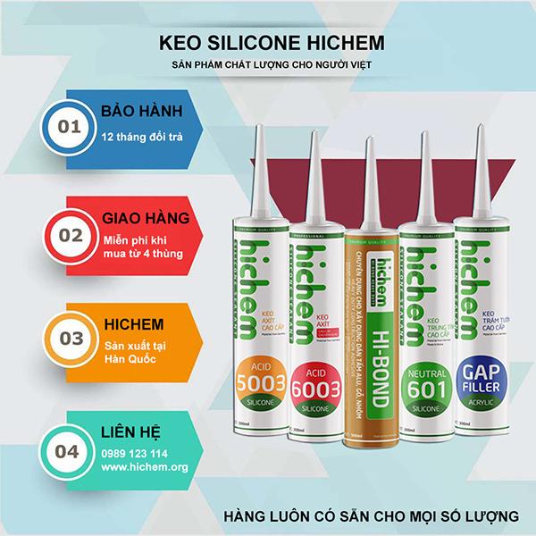 Keo silicone là gì?