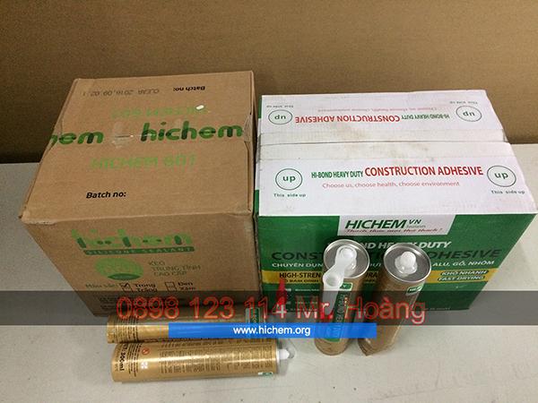 Keo silicon loại tốt Hychem Hàn Quốc