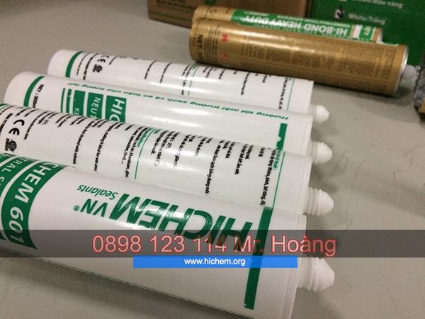Keo silicon màu dán gỗ cao cấp từ Hàn Quốc
