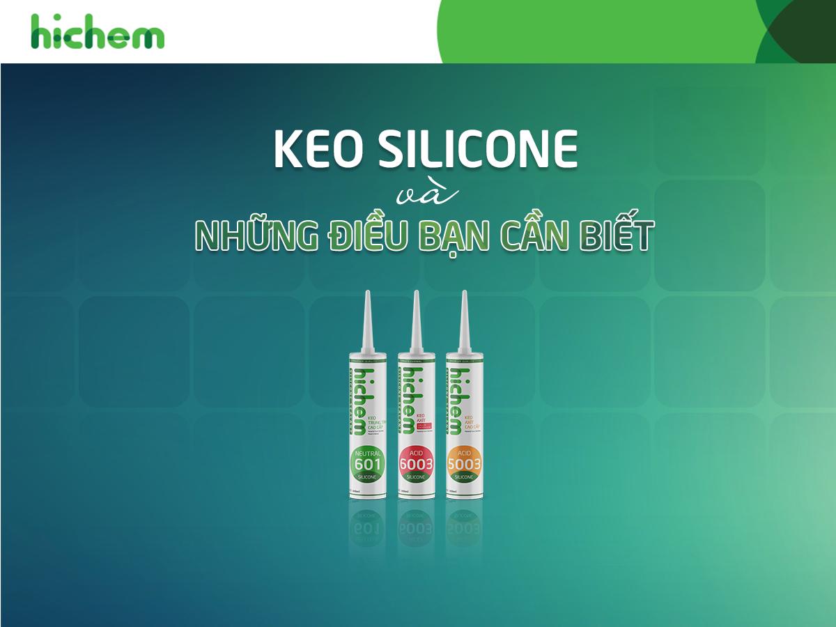 Nên sử dụng keo silicone loại nào?
