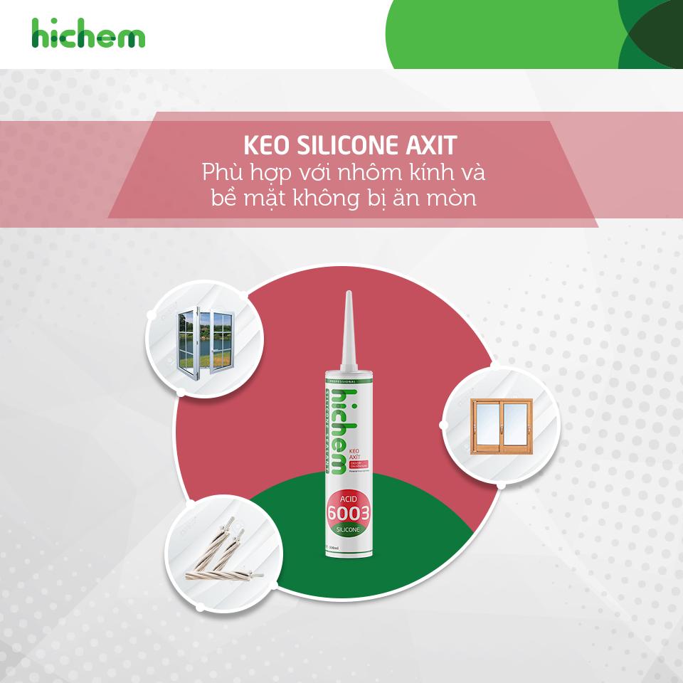 Công dụng của từng loại keo silicone mà bạn đang dùng trên thị trường 3