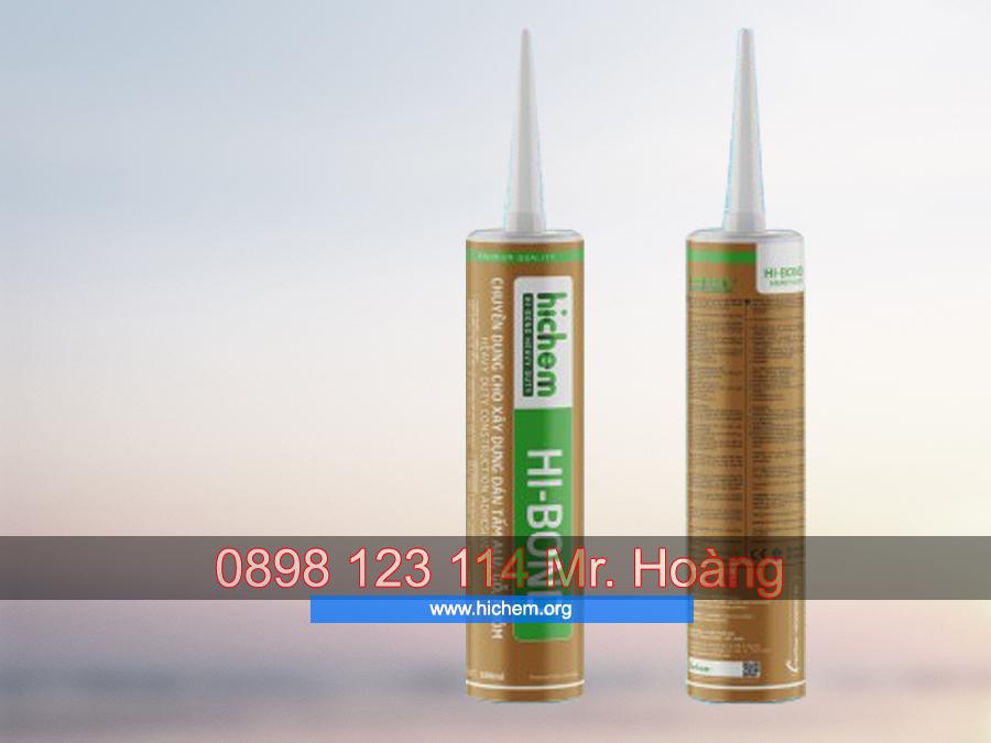 Keo silicone chống thấm dán tấm alu Hichem HI-BOND 1