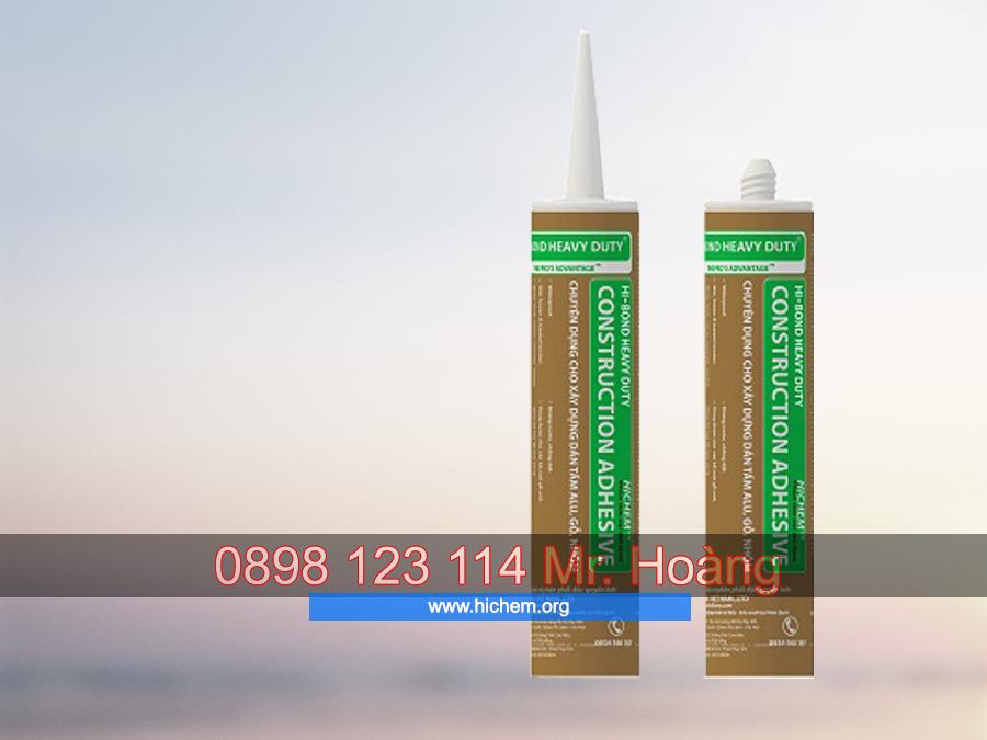 Keo silicone chống thấm dán tấm alu Hichem HI-BOND 2