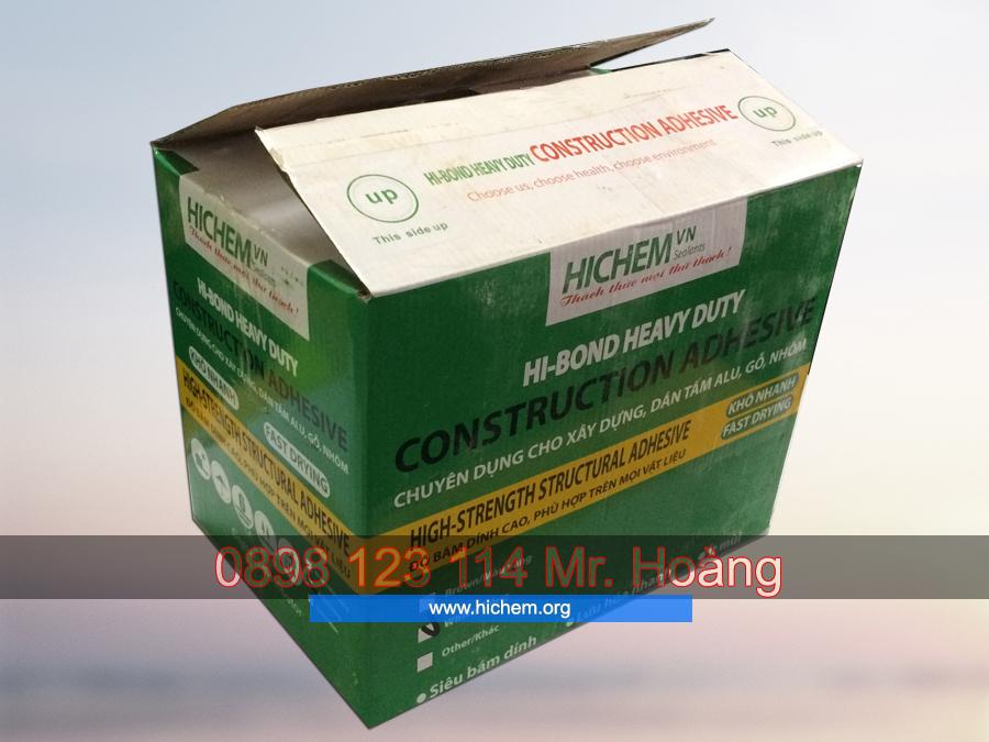Keo silicone chống thấm dán tấm alu Hichem HI-BOND 3