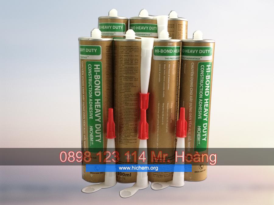 Keo silicone chống thấm dán tấm alu Hichem HI-BOND 4