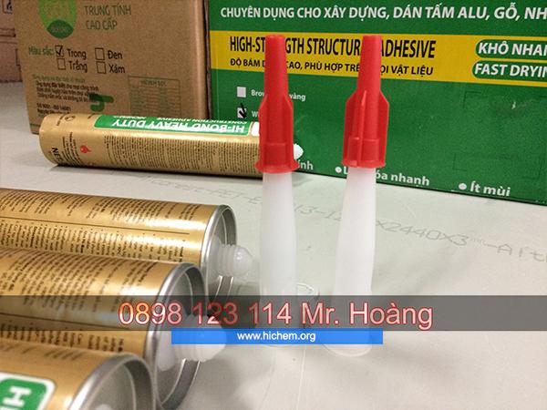 Keo silicone trung tính Hàn Quốc Hichem giá rẻ 1