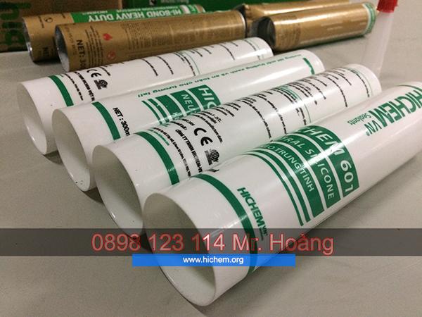 Keo silicone trung tính Hàn Quốc Hichem giá rẻ 3