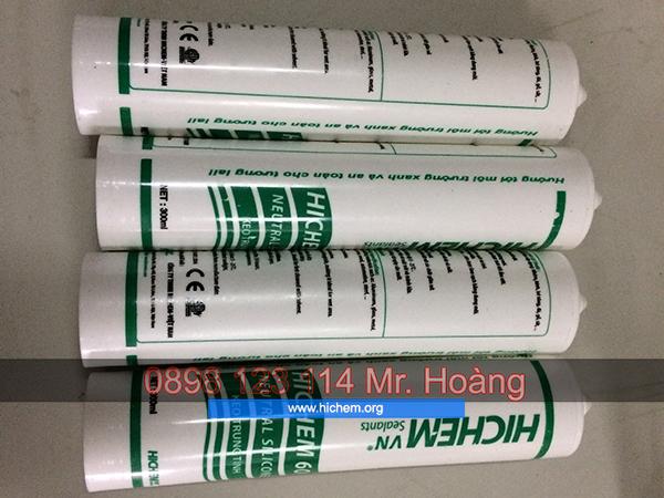 Keo silicone trung tính Hàn Quốc Hichem giá rẻ 4