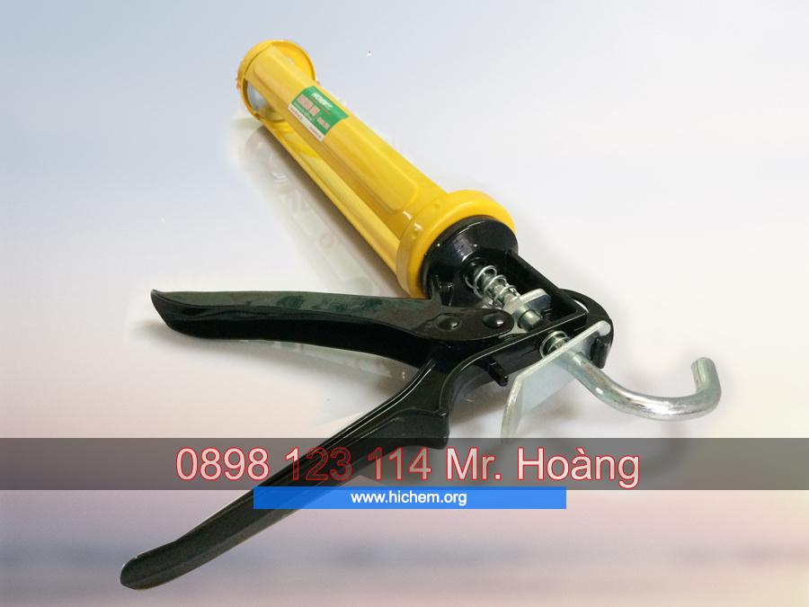 Súng bắn trét keo silicone Hichem H101 chuyên dùng 4
